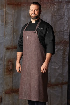 Corvallis Chef's BiB Brown-Sandstone