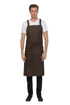DENVER Chef BiB chocolate rust