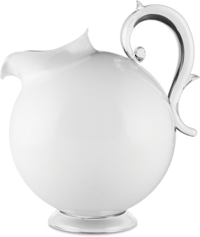 Aqua Pitcher 1 L  SOLID WHITE