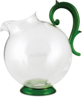 Aqua Pitcher 1 L GREEN & CLEAR