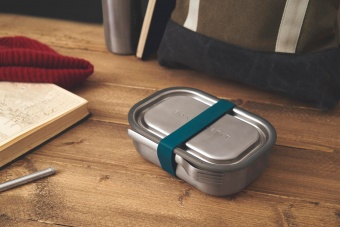 Stainless steel lunch box ocean