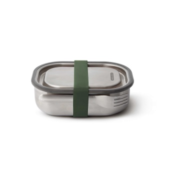 Stainless steel lunch box Olive Small