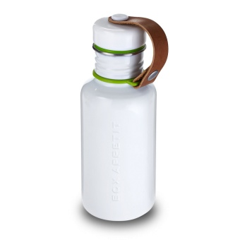 Water Bottle Small White