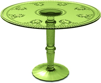 Cake Stand 29,5 cm tall - Sage