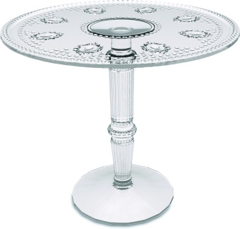 Evergreen Cake Stand 24,5 tall CLEAR