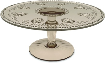 Evergreen Cake Stand 24,5 WOOD