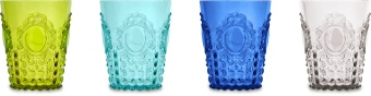 Baroque & Rock set 4 Water glasses