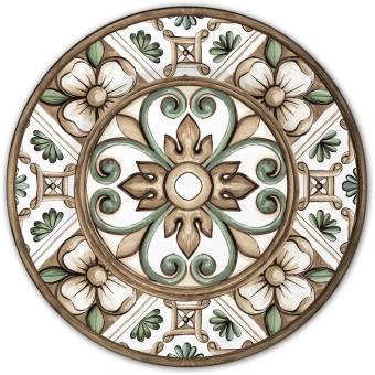 Baroque & Rock Dinnerplate Tuscany 6-pack