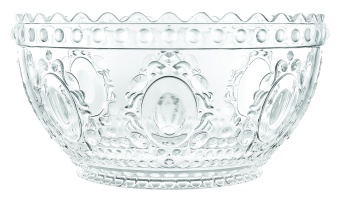 Evergreen Salad bowl CLEAR