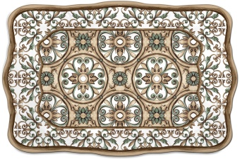 Baroque & Rock Tray Marocco