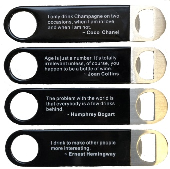 Bar blade quotes 4-pack