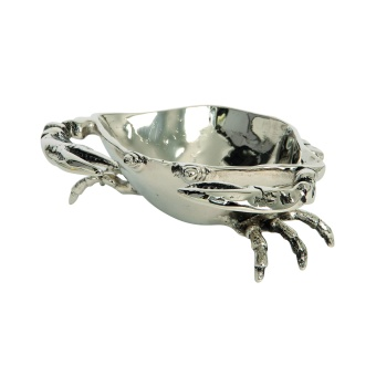 Small Nickel crab bowl