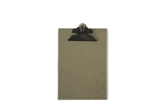 Clipboard Green A5