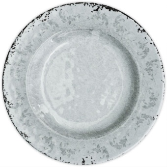 Evergreen Dinner plate 28 cm WHITE