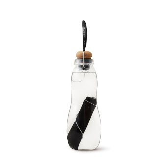 Vattenflaska glas, Eau Good Black
