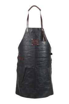 Apron Burgundy/Black