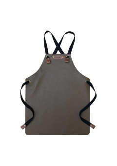 Kids Apron Brown