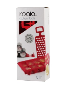Set Kitchen Tools Red
