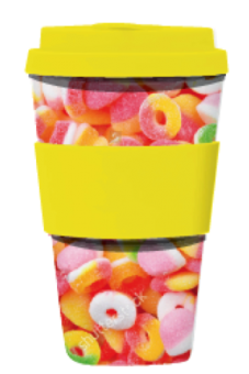 Take away-mugg Candies