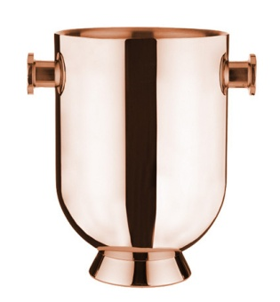 Trombone champagne cooler Copper