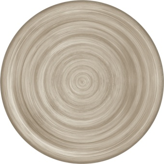 Neo Barocco Dinner plate TAUPE