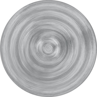 Neo Barocco Soup plate GREY