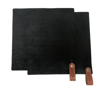 Pot Holder Black 2-pcs