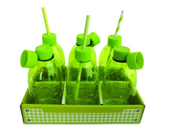 Drink Bottle Green