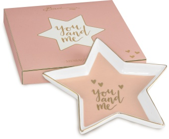 Shine Star Plate YOU AND ME