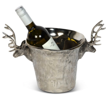 Stag Wine cooler with textured finish