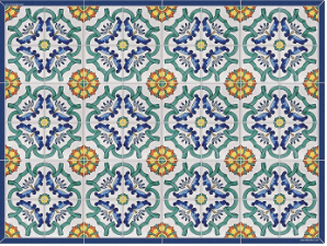 Placemat POSITANO Blue