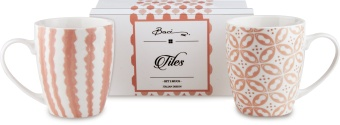 Tiles Set 2 muggar PEACH
