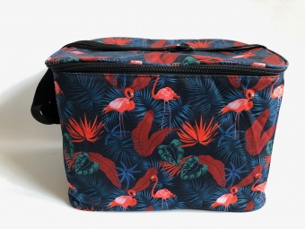 Wineglass Bag Jungle Flamingo