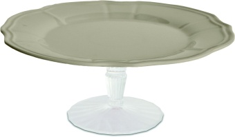 Cake Stand 22 Taupe