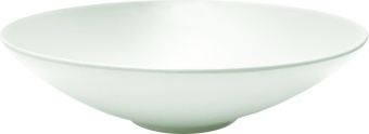 Chic & Zen Soup Plate WHITE