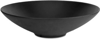 Chic & Zen Soup Plate BLACK