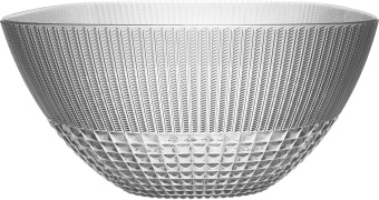 Chic & Zen Salad Bowl clear