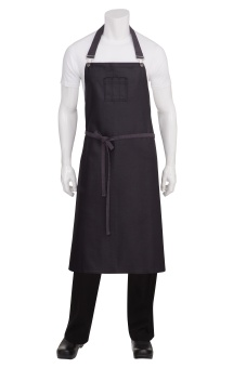 Boulder Chef's BIB Black & Purple