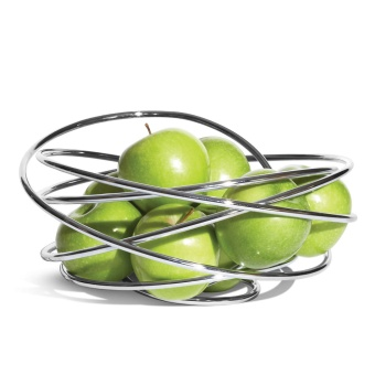 Fruktskål loop Fruit Chrome