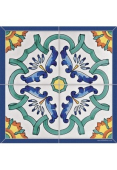 Coaster POSITANO Blue 4-pcs