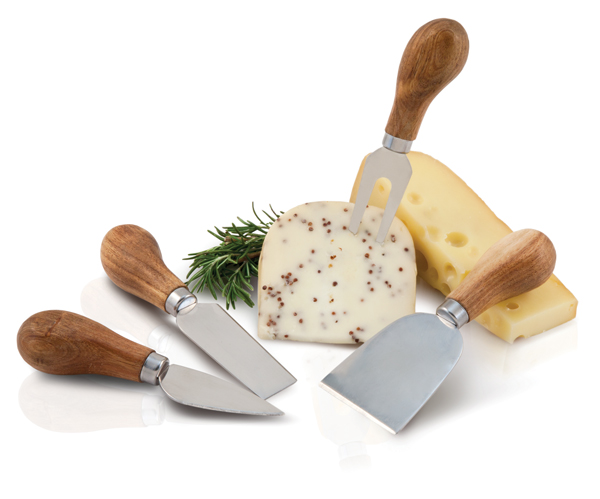 TWINE Rustic gourmet cheese knives