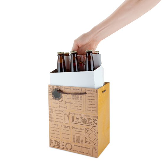 Beer Varieties Paper bag