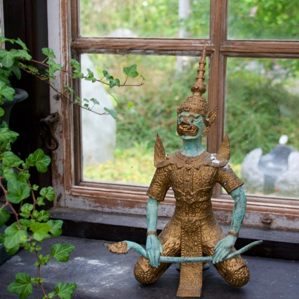 Bronsfigur thai