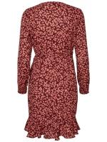 VMHENNA FIFI SMOCK L/S SHORT DRESS SB2