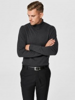 SLHTOWER COT/SILK ROLL NECK B NOOS