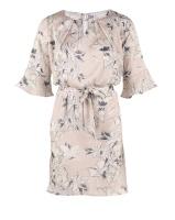 LARGE FLOWER PRINTED DRESS