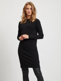 OBJTHESS L/S KNIT DRESS NOOS