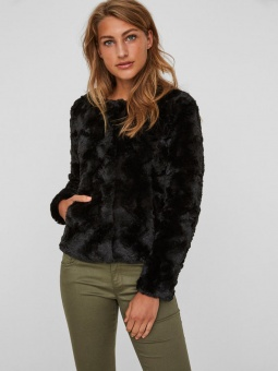 VMCURL SHORT FAKE FUR JACKET NOOS