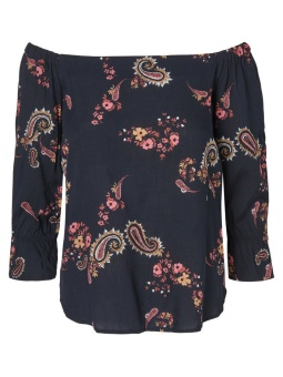VMSIMPLY EASY VISC OFF SHOULDER TOP