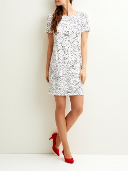VITINNY NEW S/S DRESS-LUX